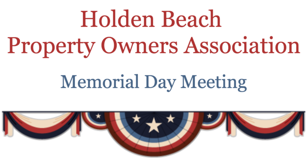 Memorial Day Meeting